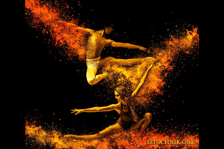 близнецовые пламена воплощая энергетический танец