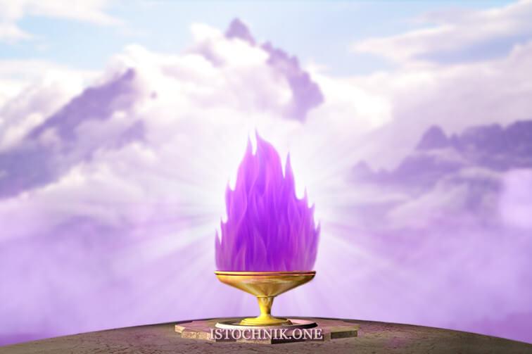 фиолетовое пламя сила трансмутации