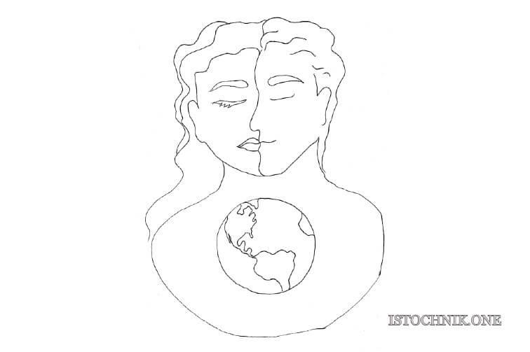 гендерное единство в 5D отношениях